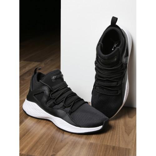 b645787b584b ... Nike Men Black Textile Mid-Top JORDAN FORMULA 23 Basketball Shoes ...