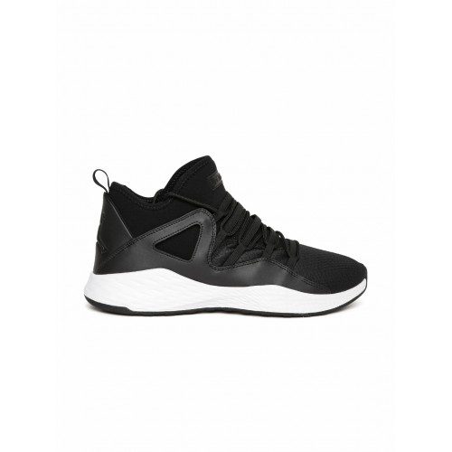 90300f732f5 ... Nike Men Black Textile Mid-Top JORDAN FORMULA 23 Basketball Shoes ...
