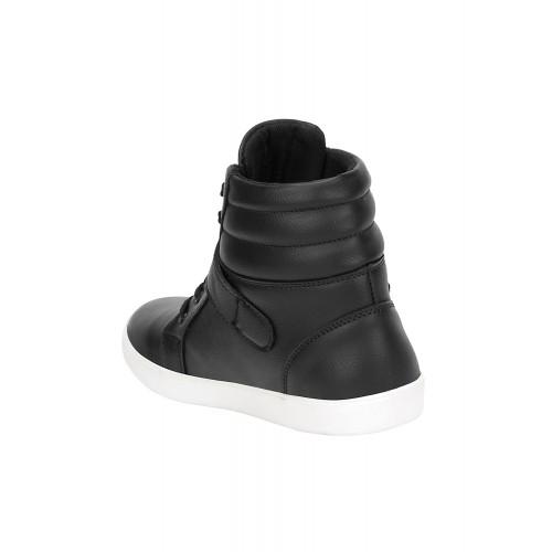 Kraasa NotOut Black Sneakers