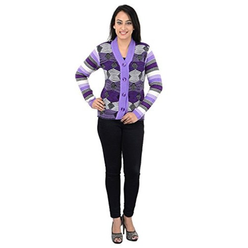 Pilot's Full Sleeve Women's Woolen Cardigan
