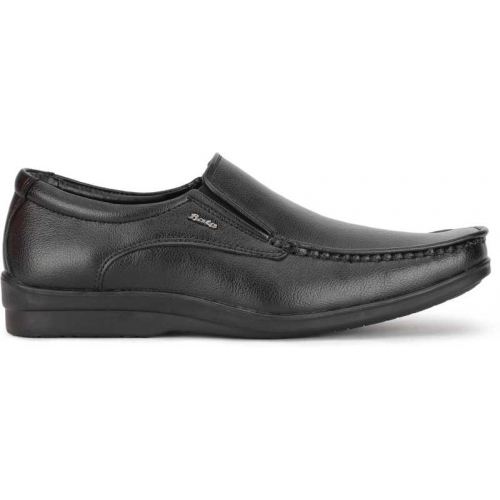 Bata Black SCALE Slip On For Men