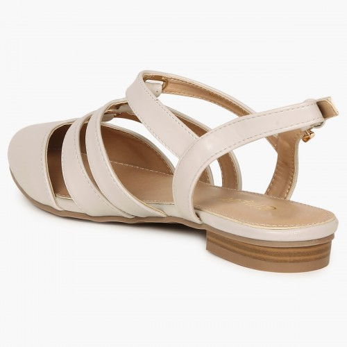 5b0eadfe548754 Buy GINGER Closed-Toe Strappy Sandals online