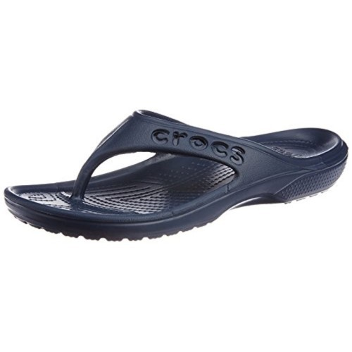 2bb87dfb0859fd Buy Crocs Navy Blue Rubber Flip Flops online
