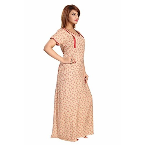 Soulemo Womens Premium Feeding Nighty /Maternity Dress
