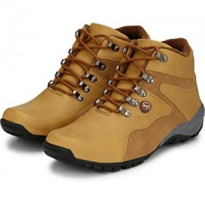 T-ROCK VISION Tan Synthetic Leather Casual Boot Shoes