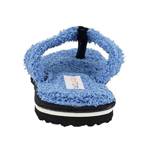 13844e56ede8 Buy Travelkhushi Grass Terry Flip-Flops for Women- Memory Foam ...
