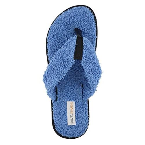 1ef43f119 Buy Travelkhushi Grass Terry Flip-Flops for Women- Memory Foam ...