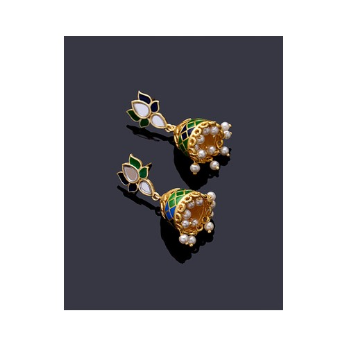 6ccd7abe4 Buy Voylla Ombre Lotus Earrings For Women online