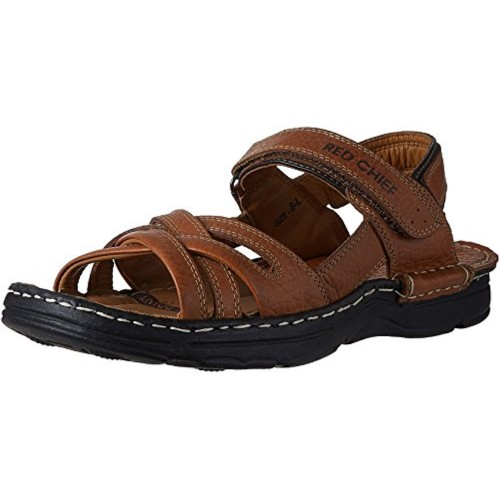 Red Chief Men's Leather Sandals and Floaters