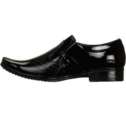 Shoe Island Black Lace Up Formal Shoes