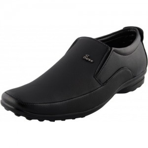 Shoe Rock Vision Black Synthetic Leather Formal Men's Shoes