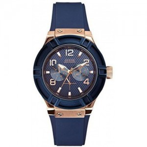 GUESS Women Navy Blue Analogue Watch W0571L1_OR