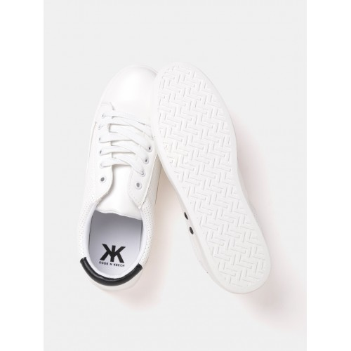 81692d4f6 Buy Kook N Keech Women Off-White Perforated Sneakers online ...