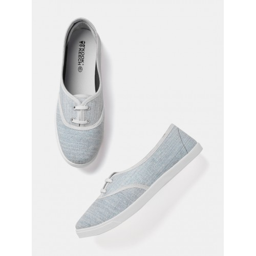 96d6e3ca6a5 Buy Kook N Keech Women Blue Printed Sneakers online