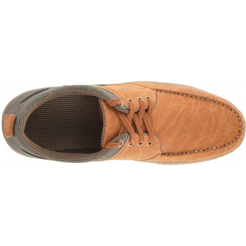 Leoport Tan Synthetic Leather Casuals Shoes