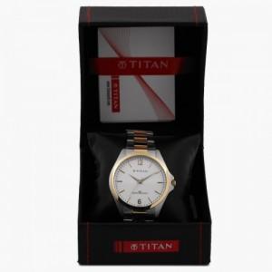 TITAN Men's Analog Watch - 9439BM01J