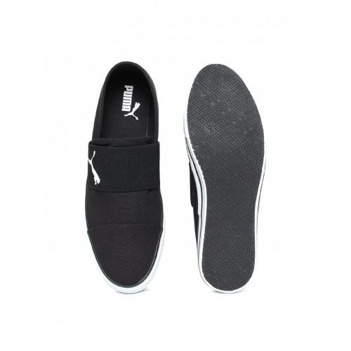 8700b18d88e Buy Puma Unisex Black Alpha Slip on CV IDP Sneakers online