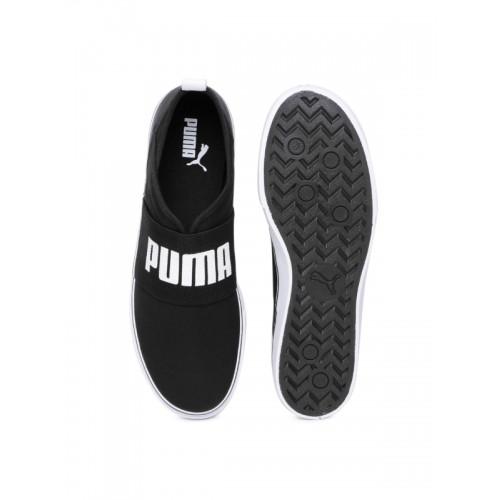 1359890f859a Buy Puma Men Black Milano Slip-On Sneakers online