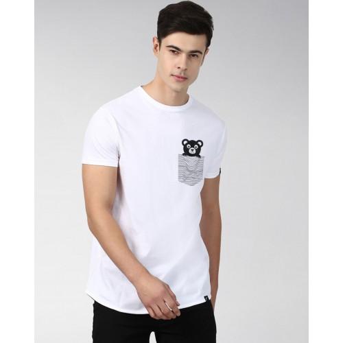 f4dec5f79 Buy Young Trendz Printed Men's Round Neck White T-Shirt online ...