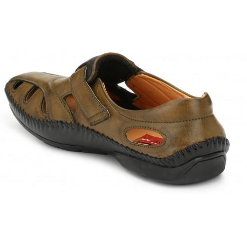 Buy Fashion Victim Men Mehndi Sandals Online Looksgud In
