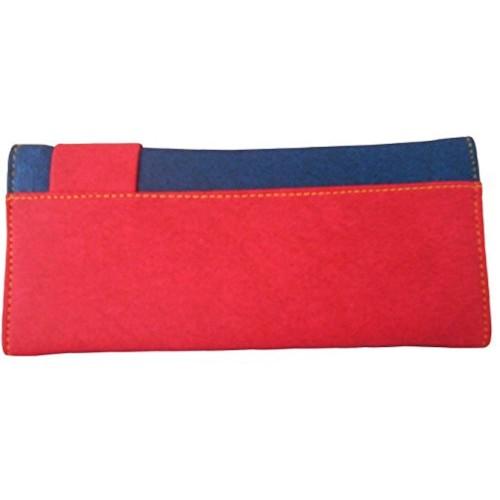 Saugat Traders Canvas Women's Wallet (Brown/Beige)(PST001092)