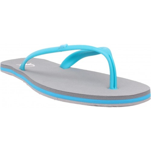 United Colors of Benetton Gray Ruuber Flip Flops
