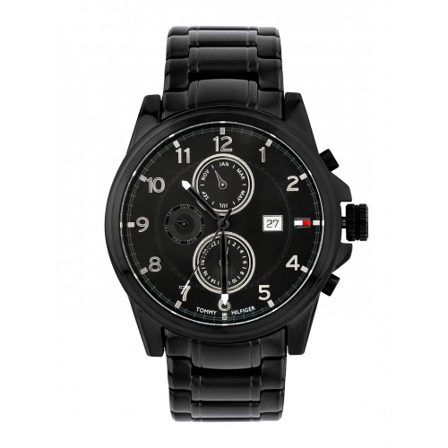 ca47fbb03b3310 Buy Tommy Hilfiger Men Black Dial Chronograph Watch TH1790961J ...