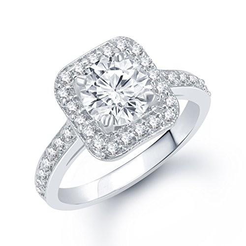 V. K. Jewels Silver Brass Rhodium Plated Ring For Women - Fr1056R [Vkfr1056R]