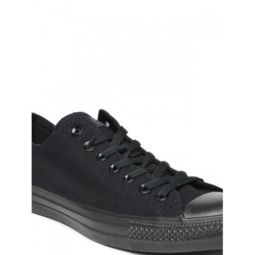 Converse Unisex Black Canvas Sneakers