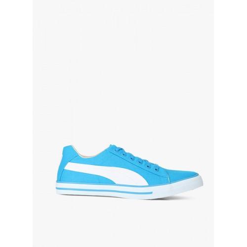 Puma Sky Blue Canvas Unisex Sneakers