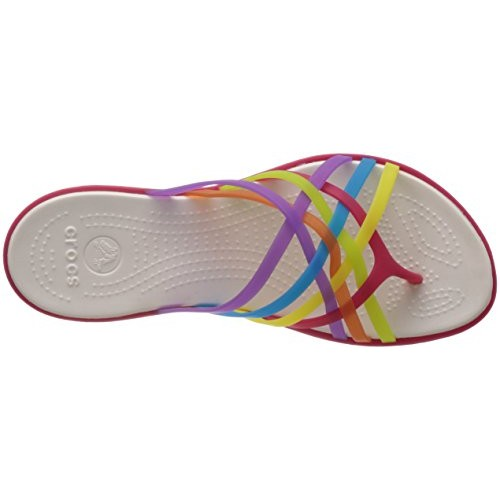 Crocs Multicolor Rubber Flip Flops and House Slippers