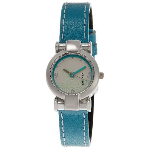 Sonata Yuva Analog White Dial Women's Watch - NF8944SL01J