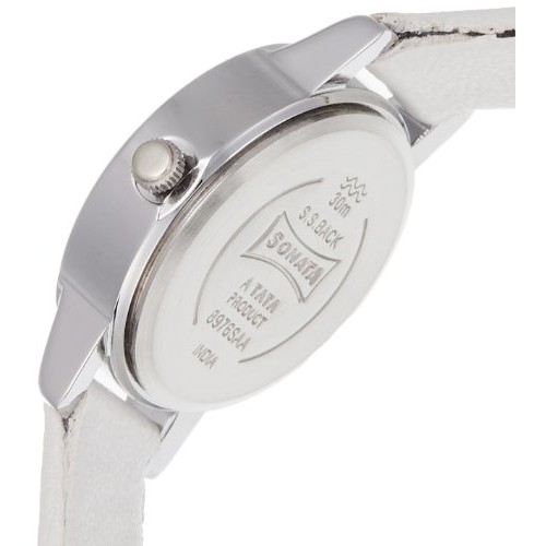 Sonata Analog Pink Dial Women's Watch - 8976SL03J