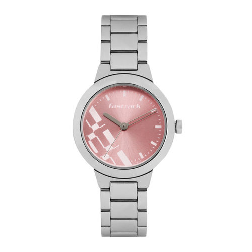 Fastrack 6150SM04 Pink Analog Dial Watch
