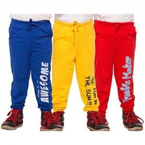Maniac Multicolor Combo Boy's Trousers