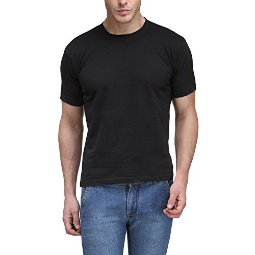 564128d1d01 ... 3  Scott Men s Basic Cotton Round Neck Half Sleeve Solid T-shirts - Pack  ...