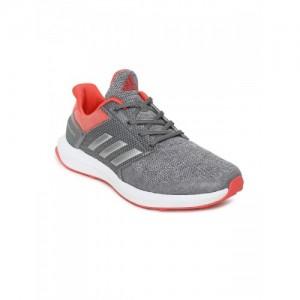 Adidas Unisex Grey RAPIDARUN K Running Shoes