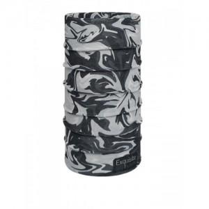 NOISE Unisex Grey & Black Printed Headband
