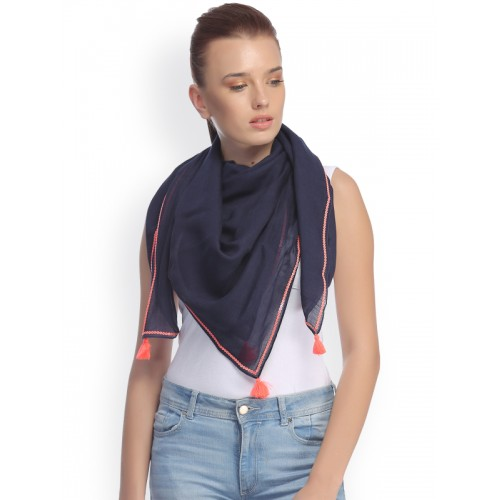 CoolThreads Navy Scarf