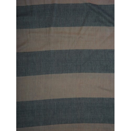 Anekaant Women Brown & Grey Striped Stole