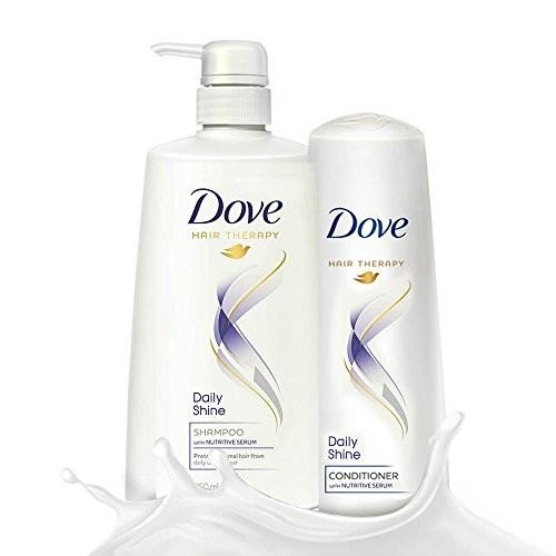 Dove Daily Shine Shampoo, 650ml