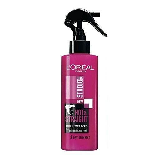 L'Oreal Studio Line Straight Hair Spray 200Ml