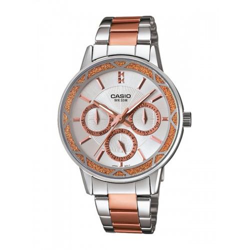 CASIO Enticer Women Off-White Watch A902 LTP-2087RG-7AVDF