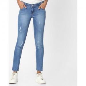 KRAUS Distressed Skinny Jeans