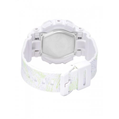 Casio Baby-G Women White Printed Analogue & Digital Multifunction Watch BX073