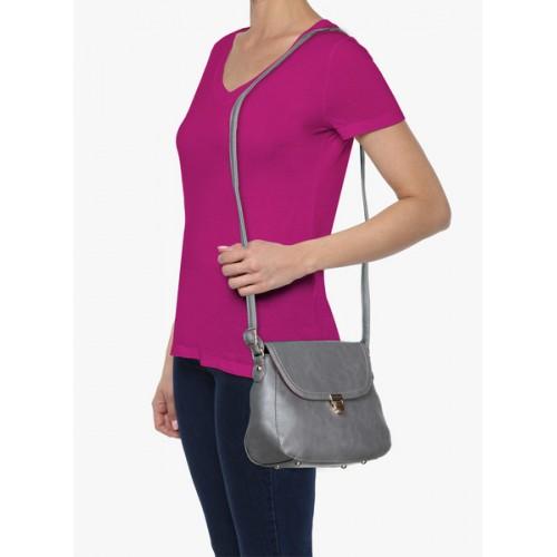 Caprese Sumi Grey Small Sling Bag