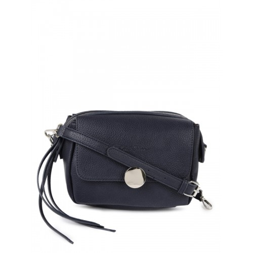 009832604b Buy Mast   Harbour Navy Blue (Pu) Sling Bag online