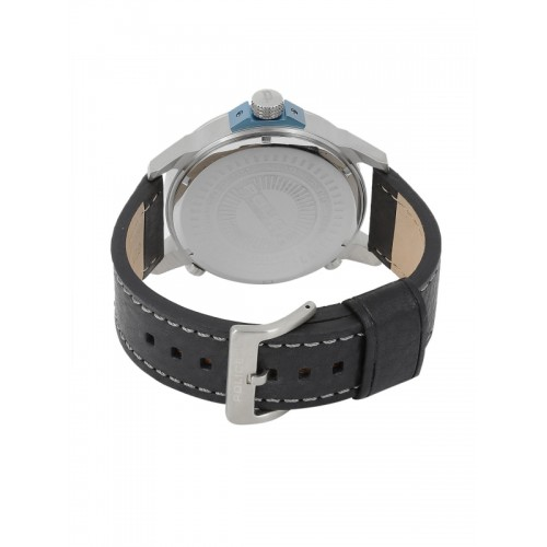 7b8ac61fae1 Buy Police Men Silver-Toned   Blue Analogue Watch PL14538JS04A BBD ...