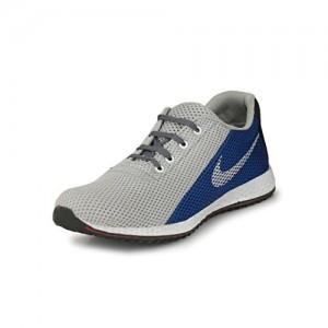 Fucasso Men's Smart Fit Grey Blue Sports Shoes