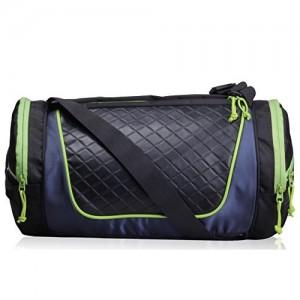 F Gear Astir Polyester 18 Ltrs Green Sports Duffel (2470)